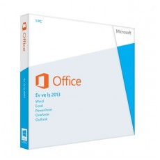 MICROSOFT OFFICE 2013 HOME&BUSINESS TÜRKÇE KUTU DVD